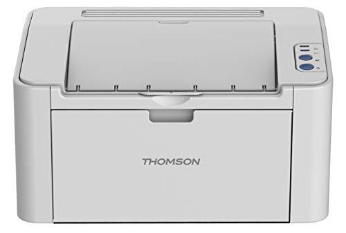 Thomson TH-2500 Imprimante Laser, Compact, Monochrome, Impression Mobile sans Fil, Rapide et de Haute Qualité