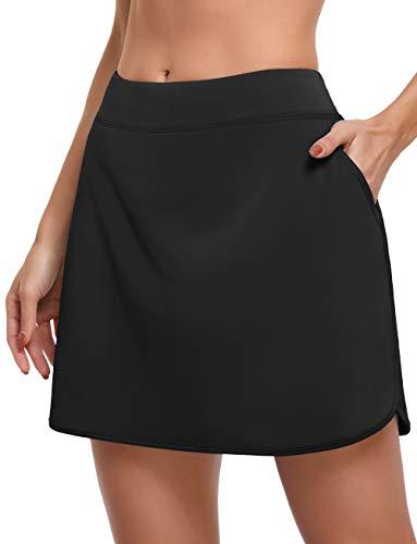 CHICHO Tennis Skorts Skirts for Women,Girl Daily S...