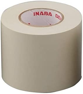 Inaba new generation of non-adhesive tape inextricable also fell from Electric Works hand Neopitatepu 50mm × 18m Ivory HS-...