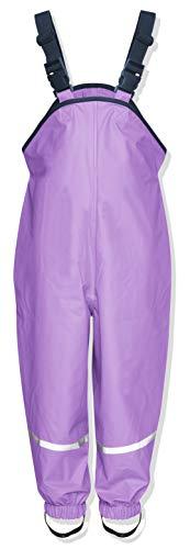Playshoes Unisex Kinder Regenhose, Buddelhose, Matschhose, Violett (Flieder)Gr.80
