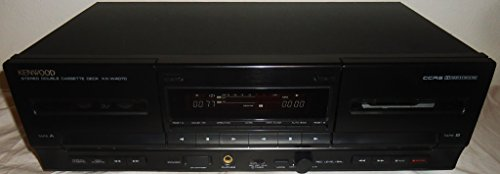 Best Price Kenwood KX-W4070 Recordable Stereo Double Cassette Tape Recording Deck - Japan