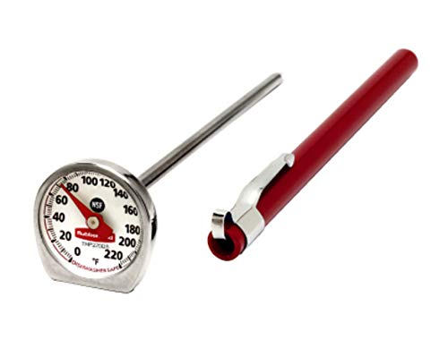 Rubbermaid Commercial Products Food/Meat Instant Read Thermometer Pocket Size Dishwasher Safe Fgthp220Ds