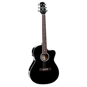 Ashton D10CEQ 39-inch Cutaway Electro Acoustic Guitar with EQ 5
