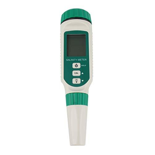 Tree-on-Life Digitaler Salinometer Salzgehalt Tester Stift Lebensmittel Getränke Trinken Salzgehalt Meter ATC Handheld Meerwasser Messung