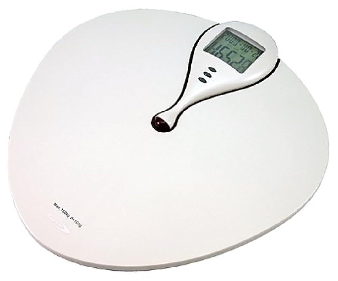 無意味土器選択Bearmax BMI指数表示付デジタル体重計 YHB-7308