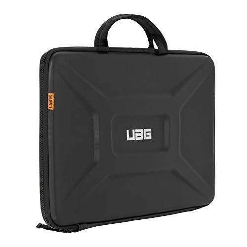 Urban Armor Gear universal Laptoptasche für Apple MacBook Pro, Microsoft Surface Book 2 / Laptop 3 uvm. (universal Schutzhülle bis 15 Zoll, Innentasche, Handsschlaufe, verschleißfest) schwarz