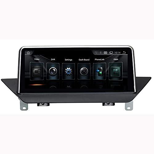 ZHANGYY Nav 2 DIN Car Stereo Android Head Unit GPS Car Radio WiFi USB Touch Sn Mirror Link - Aplicable Compatible con BMW X1 E84, Navigator Bluetooth FM Am 10.25 Pulgadas