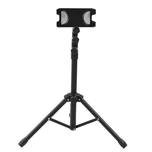 Dilwe A-306V2 Soporte de Suelo para Tableta, Soporte para Tableta Ajustable en Altura con rotación de 360 °, Soporte Universal para trípode para Tableta para el hogar, la Oficina