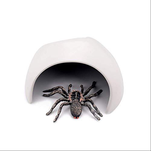 LNDDP Reptilienhäute und -höhlen, Versteckbox für Kleintiere, Schmuck für die Landschaftsgestaltung von Reptilienbehältern