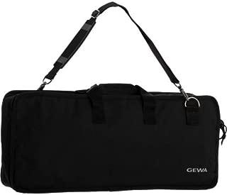 Keyboard Gig Bag Basic, 60x23x6,5 cm, music sheet pocket on the lid, black, tear- and waterproof