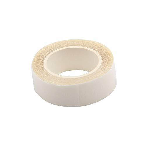 カチューシャ 3メートルの長さヘアウィッグテープロール強粘着ウィッグ髪の支持テープヘアエクステンション用両面防水テープ見えません パーティー、ショッピング、写真撮影、日常着に最適です (Color : White)