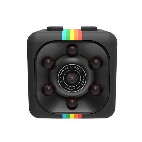 WEQQ Cámara Deportiva infrarroja Nocturna 960P 1080P Sq11 Cámara Impermeable (black960P)