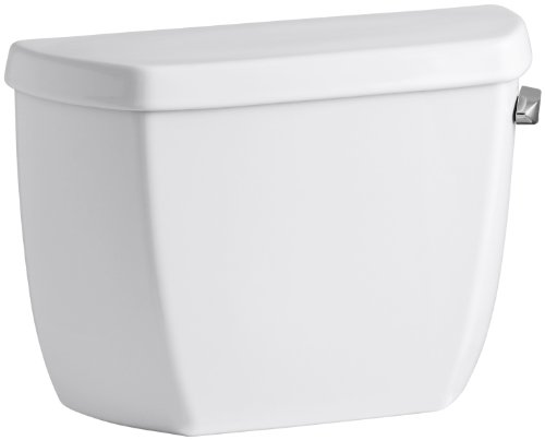 Kohler K-4436-TR-0 Wellworth Classic 1.28 gpf Toilet Tank with Class Five Flushing Technology, White