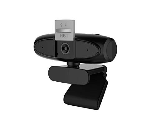 Cámara Web 1080P Micrófono Incorporado y Cubierta de privacidad Computadoras portátiles de Escritorio Cámara de PC USB Plug and Play, Stream Webcam para videollamadas de Datarm