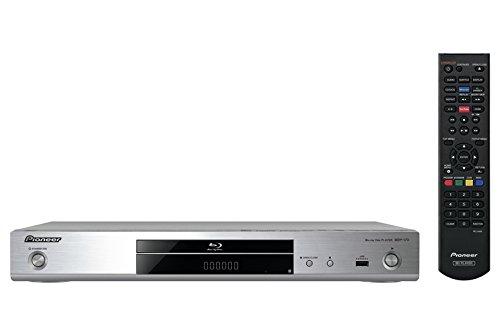 Pioneer BDP-170-S 3D Blu-ray Player (HDMI, 1080p Video Scaler, DLNA 1.5, App. Steuerung, WiFi und WiFi-Direct, USB 2.0, HDMI-CEC) Silber