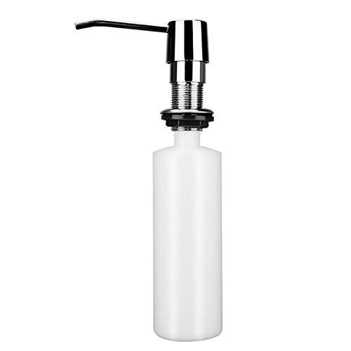 KGMIXL Clásico Cocina Sapon Dispenser Fregadero líquido Botella de jabón de baño Detergente de baño Láved de Lavado a Mano líquido Bombas de dispensador de jabón 300ml para Cocina/baño/lavadero,