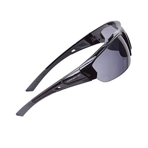 Gafas de sol ForceFlex para hombres y mujeres, superan las normas militares balísticas, prácticamente indestructibles, elegantes y resistentes