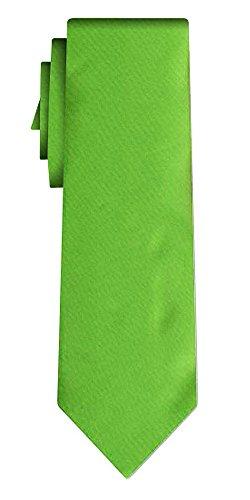 Cravate unie solid powerful light green VII