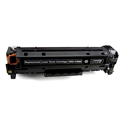 AXAX Compatibele Toner Vervanging Voor Canon CRG418 Toner Cartridges Voor Canon IC MF8380Cdw MF8340Cdn MF8350Cdn MF8330Cdn Printer, Met Chip Office Supplies Duurzaam zwart