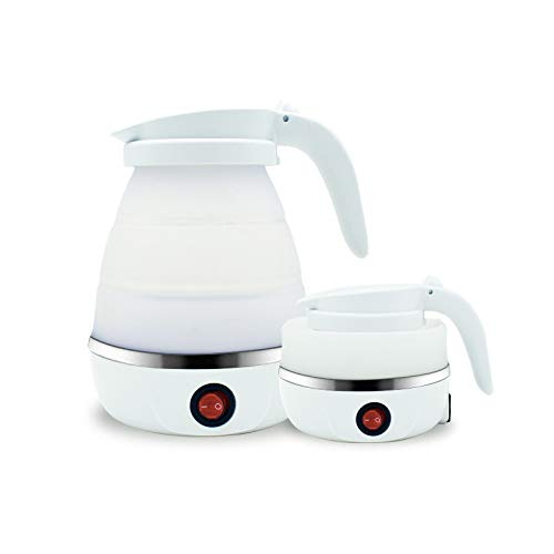 Bouilloire électrique Pliable Portable 220V Voyage De Mini Silicone Bouilloire électrique Mini Chauffe-eau Domestique