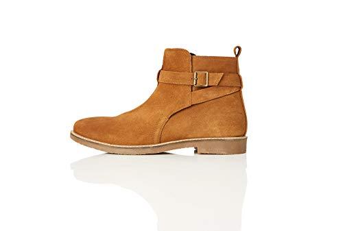 find. Ethan Jodhpur Chelsea Boots, Braun (Tan), 43 EU