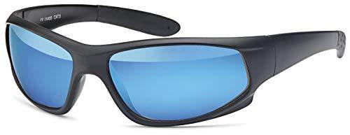 Balinco Gafas Deportivas Gafas para Ciclista Funcionamiento de Las Gafas de Sol Correr Pesca Deportes Golf Gafas Gafas Esquí Esquí Conducir Gafas de Sol para Hombres y Mujeres Outdoor - Negro-Azul