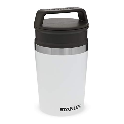 Stanley Adventure Series Shortstack Travel Mug, Unisex-Adult, Blanco Polar, 8OZ / .23L