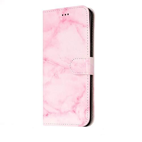 Ebogor para Para Huawei P10 Lite Rose Gold Pattern Horizontal Flip de Cuero Funda Protectora con Soporte y Ranuras para Tarjetas y Billetera Caso (Color : Color2)