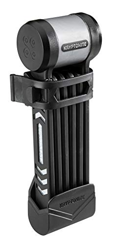 Kryptonite Fahrradschloss KryptoLok 685 Foldable (5mm/85cm), black, 85 cm, 3500456