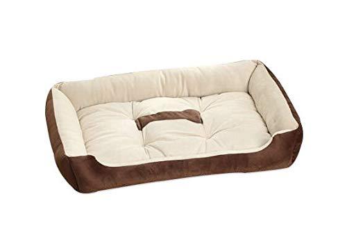 Absolute deal zachte hond puppy kat huisdier bed waterdicht warm bank kussen (M(60cm))