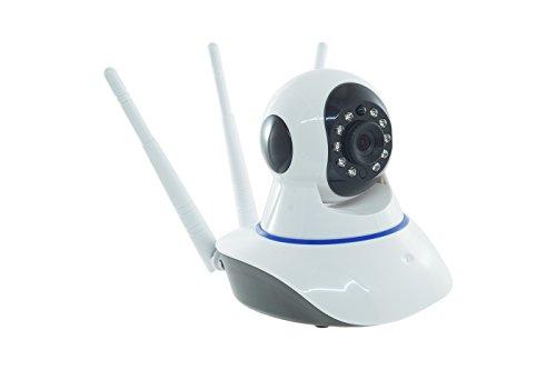 BES-22400 Telecamera Ip Cam Wireless Motorizzata Smart Camera Wi-Fi Tripla Antenna