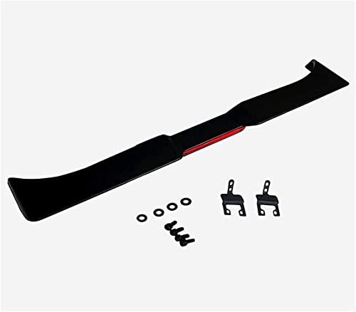 Nimeny Spoiler Posteriori,Fibra di Carbonio/ABS Tronco Tetto Parabrezza Ala Bagagliaio Coda Coperchio Labbro Styling Carrozzeria Modifica Parti per Jeep Wrangler Lantsun JL1195 Rear JL 2018-2021