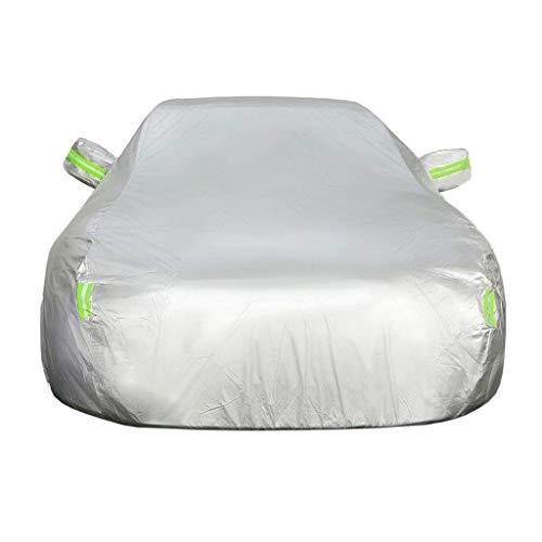NJCG Autoschutzhülle für Autoabdeckung, kompatibel mit BMW 7er-, 5er-, 3er-, 1er-Serie, Autoabdeckung, regendicht, Sonnenschutz, Verdickung