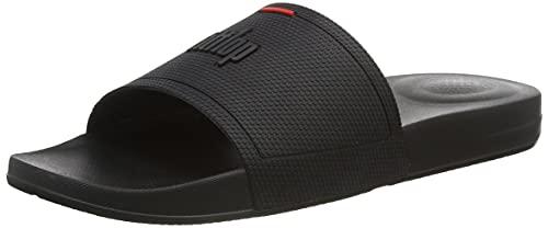 Fitflop Men's Flip-Flop, All Black, 11