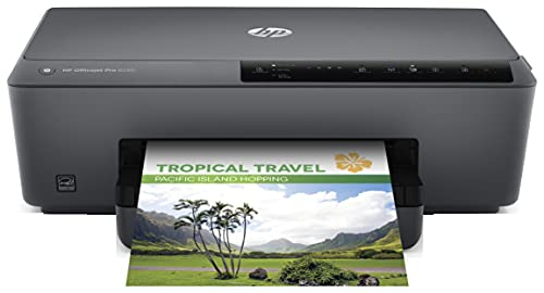 HP OfficeJet Pro 6230 E3E03A, Impresora Monofunción Tinta, Color, Impresión a Doble Cara Automática, Wi-Fi, Gigabit Ethernet, USB 2.0, HP Smart App, Apple AirPrint, Mopria, Negra
