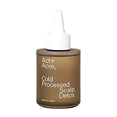 Act+Acre Cold Processed Scalp Detox   Scalp Care Oil for Healthy Hair (3 Fl Oz / 89 mL) Moisturizer for Dry Itchy Scalp, Hair Growth Oil for Thinning Hair, All Natural Psoriasis and Dandruff Treatment