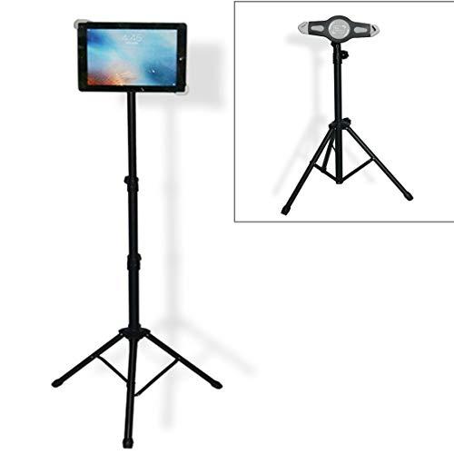 YCDZ STORE Laptop Houder Universele Mount Statief Vloer Stand Tablet Houder voor iPad, Kindle Fire, Samsung, Lenovo, en andere 7-12 inch Laptop