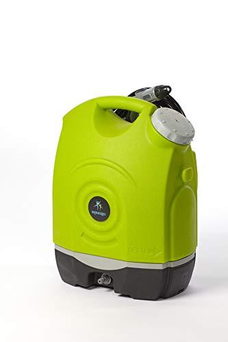 Aqua2Go GD73 idropulitrice Verticale Batteria Nero, Verde, Grigio