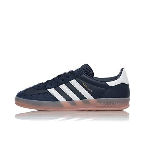 adidas Originals Gazelle Indoor, Collegiate Navy-Footwear White-Vapour Pink, 5