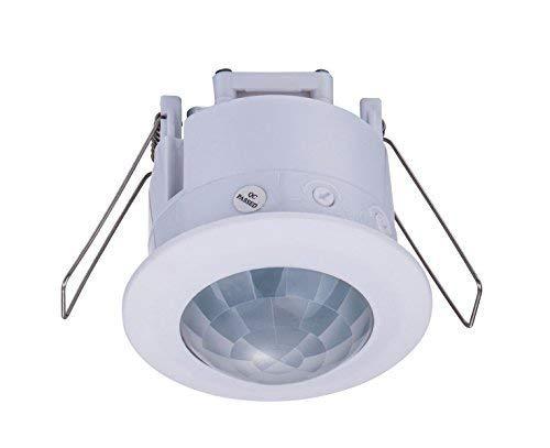 ZEYUN - Detector de Movimiento Empotrable por infrarrojos para...