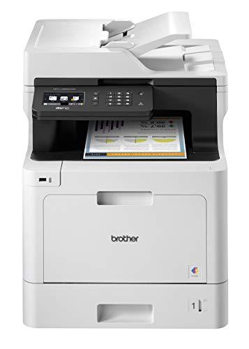 Brother MFC-L8690CDW Imprimante Multifonction Laser | Couleur | Sans fil | A4 | Recto-Verso intégral | Ethernet & WiFi | AirPtrint