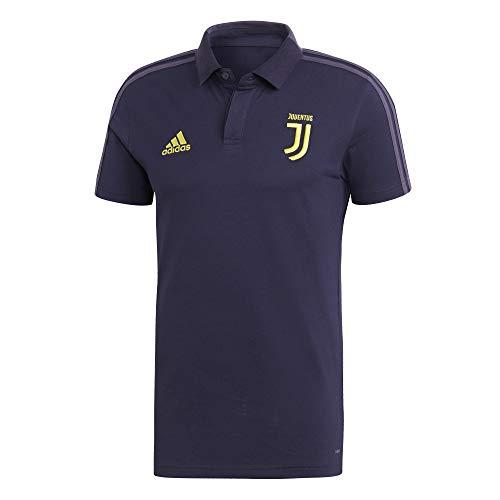 adidas 2018-2019 Juventus UCL Polo Football Soccer T-Shirt Camiseta (Dark Blue)