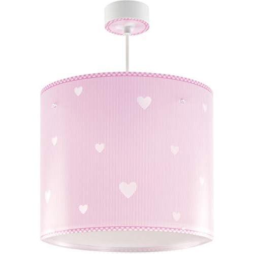 Dalber - Lampada a sospensione, collezione Sweat Dreams Pink, colore rosa, plastica