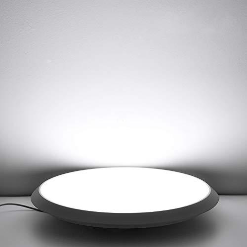 36W Plafoniera LED Lampada, Bianco freddo Lampada da soffitto a LED, plafoniere a led dimmerabili IP54 camera da letto cucina soggiorno lampada per cucina bagno corridoio camera da letto da CosHall