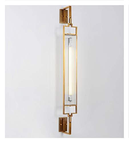 Nouveau chinois lampe de salon salon moderne chambre minimaliste lampe de chevet allée antique hôtel ingénierie fond mur éclairage galvanoplastie bronze multi-taille en option (taille : XXL)
