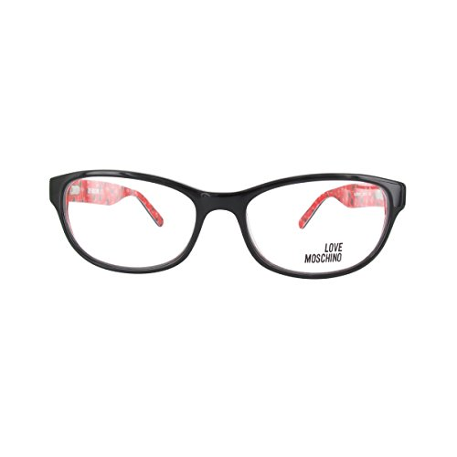 LOVE MOSCHINO Women's Eyeglasses 53 Black