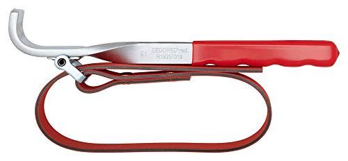 GEDORE red Bandschlüssel, Ø 140 mm, 15 mm breites Gewebeband, Aus Chrom-Vanadium-Stahl