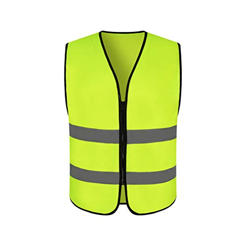 CZSMART reflektierende Warn-Weste, zum Laufen & Joggen für Aktivitäten bei Dunkelheit und in der Nacht. Sichtbar & Sicher Unterwegs, Waschbar, 360 Grad Reflektierende Sicherheitsweste