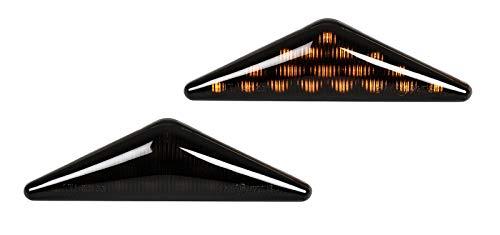 Mondeo MK3 Focus MK1 SB33 - Intermitentes laterales LED (2 unidades), color negro