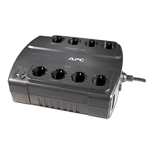 APC BE550G-GR Power Saving Back UPS - Sistema de alimentación ininterrumpida SAI, Color Negro